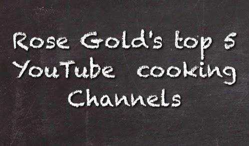 افضل 5 قنوات طبخ في اليوتيوب بالنسبه لروزجولد بلوق