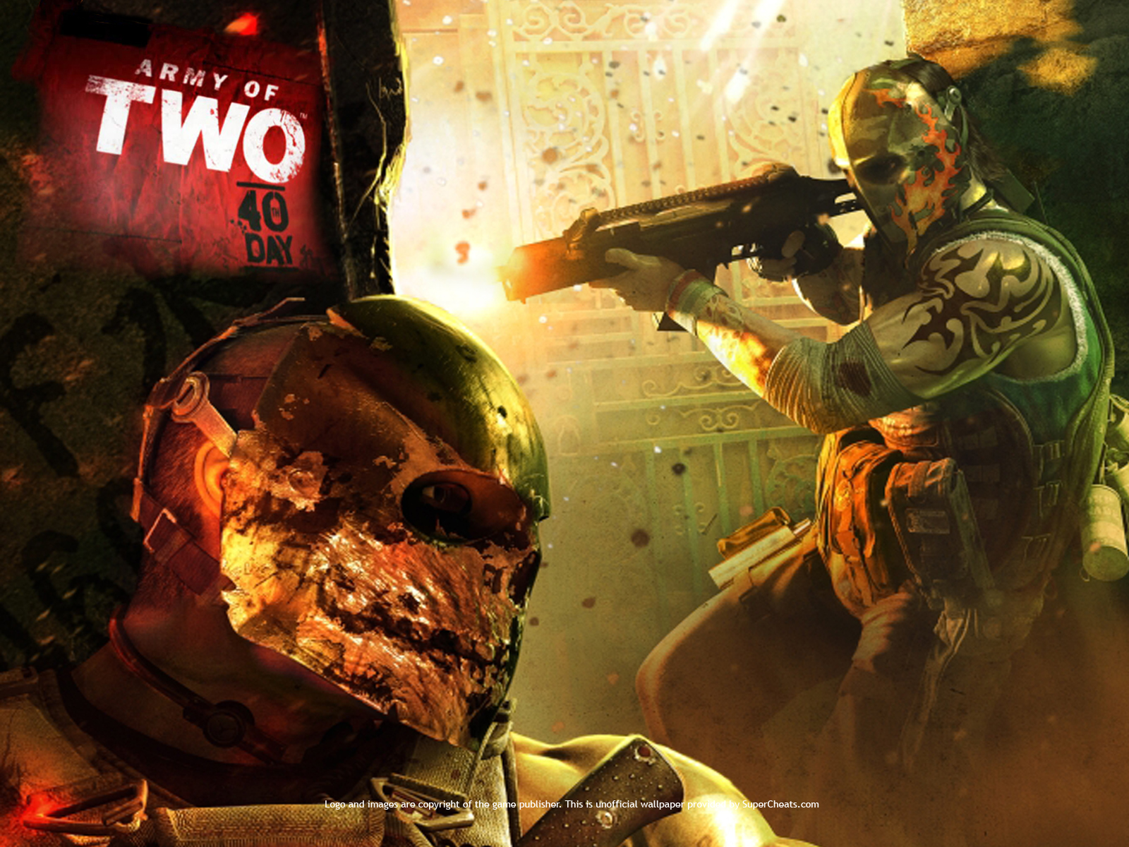 pic new posts wallpaper army of two