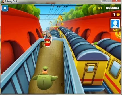 Subway Surfers Full PC Games Windows 7 / 8 Free Download