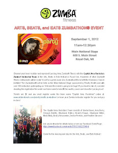 Arts, Beats, and Eats Zumbathon!