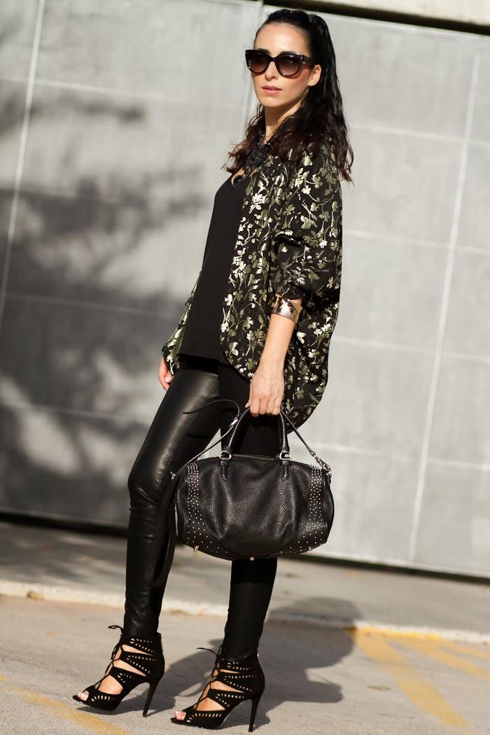 Streetstyle Total Black look