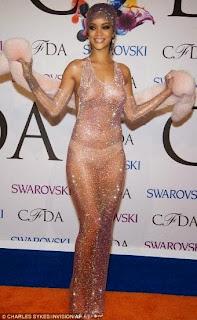 Rihanna at CFDA Awards