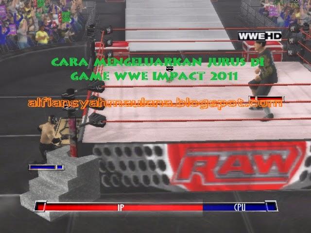 Cara Mengeluarkan Jurus di Game WWE Impact 2011