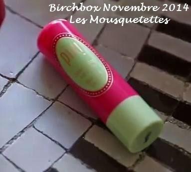 Birchbox Novembre 2014 - Les Mousquetettes©