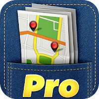 City Maps 2Go Pro Offline Maps app icon