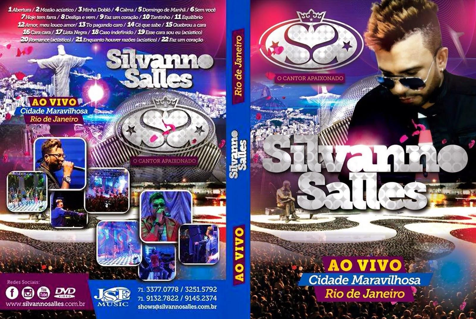 DVD Silvanno Salles – Ao Vivo No Rio de Janeiro (2015)