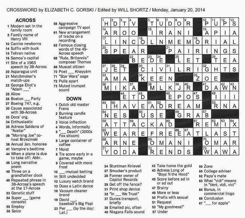 latin dance crossword - 817×728