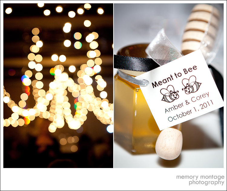 Suncadia Wedding Photo meant to bee honey wedding favor