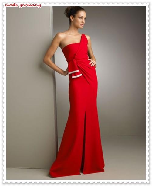 2014 Abendkleider mit einem freien Schulter