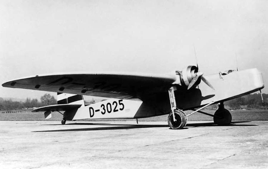 Dornier Do F(Do.11) — первый тяжелый бомбардировщик Люфтваффе