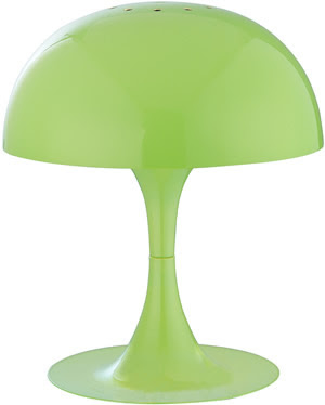 Lite Source LS-21095GRN Cutie 1 Light Mini Table Lamp, Green Metal Shade