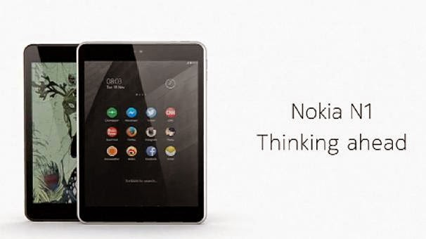 Nokia New Tablet, N1 Tablet, New Nokia Tablet, Nokia Launches N1 A Brand New Tablet