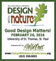Wild Ones Design With Nature Conference 2016