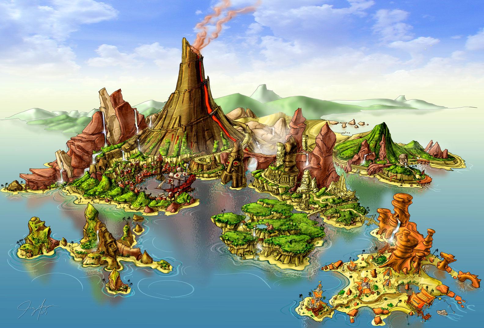 Lego Island Map