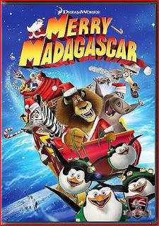 Feliz Natal de Madagascar  DVDRip AVi Dual Áudio