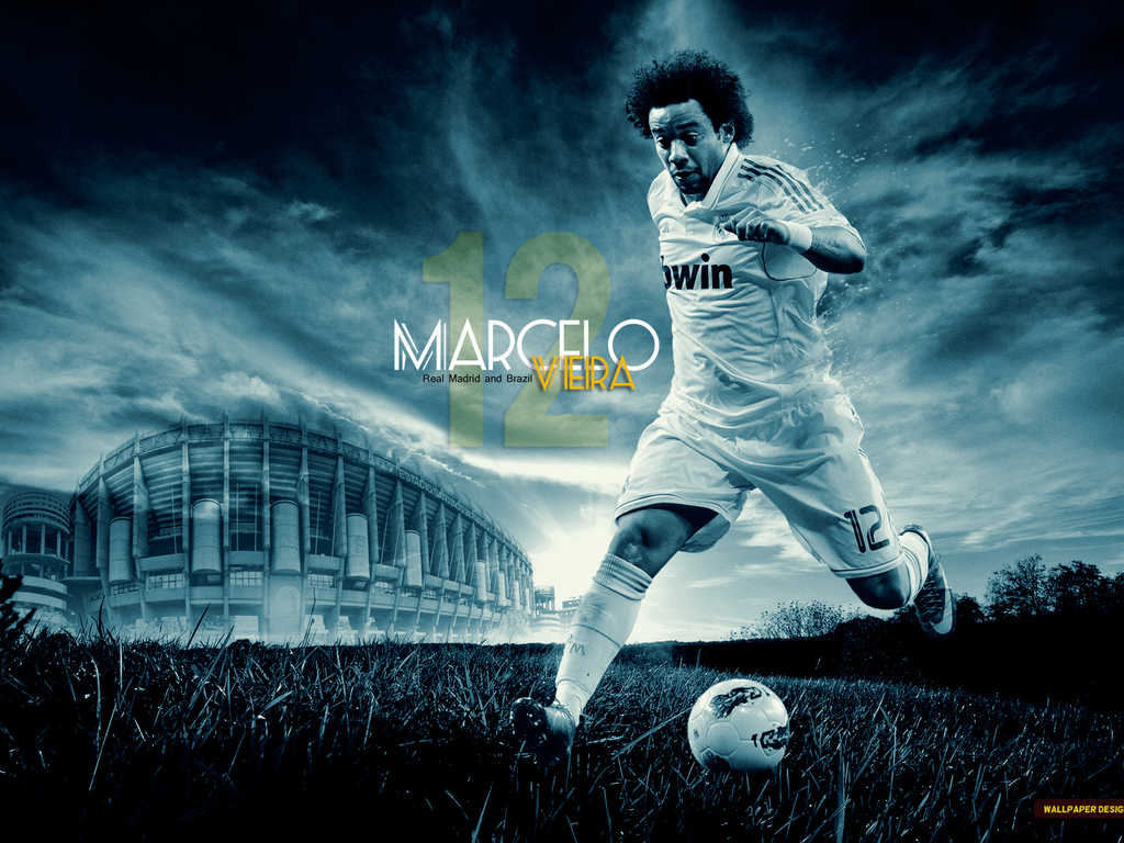 world sports hd wallpapers: real madrid marcelo hd wallpapers
