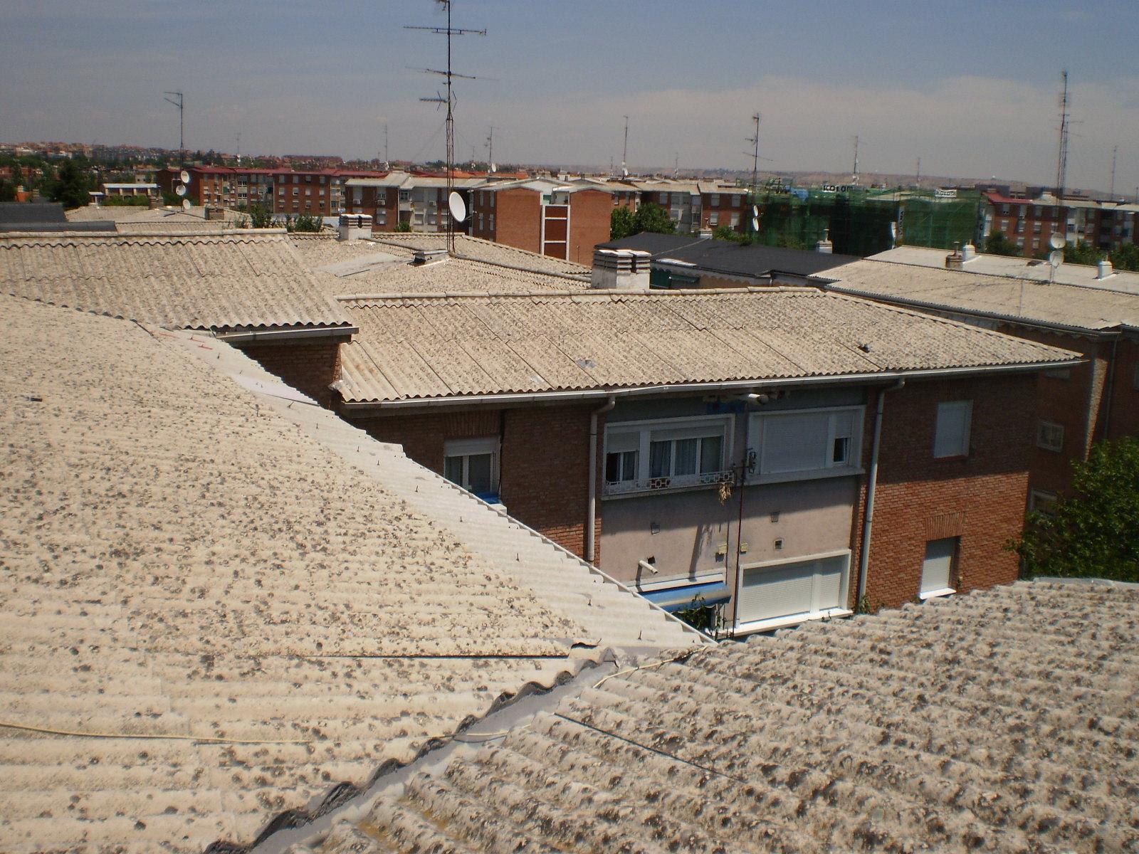 Metal y amianto sustituci n tejado de uralita con amianto for Fibrocemento sin amianto