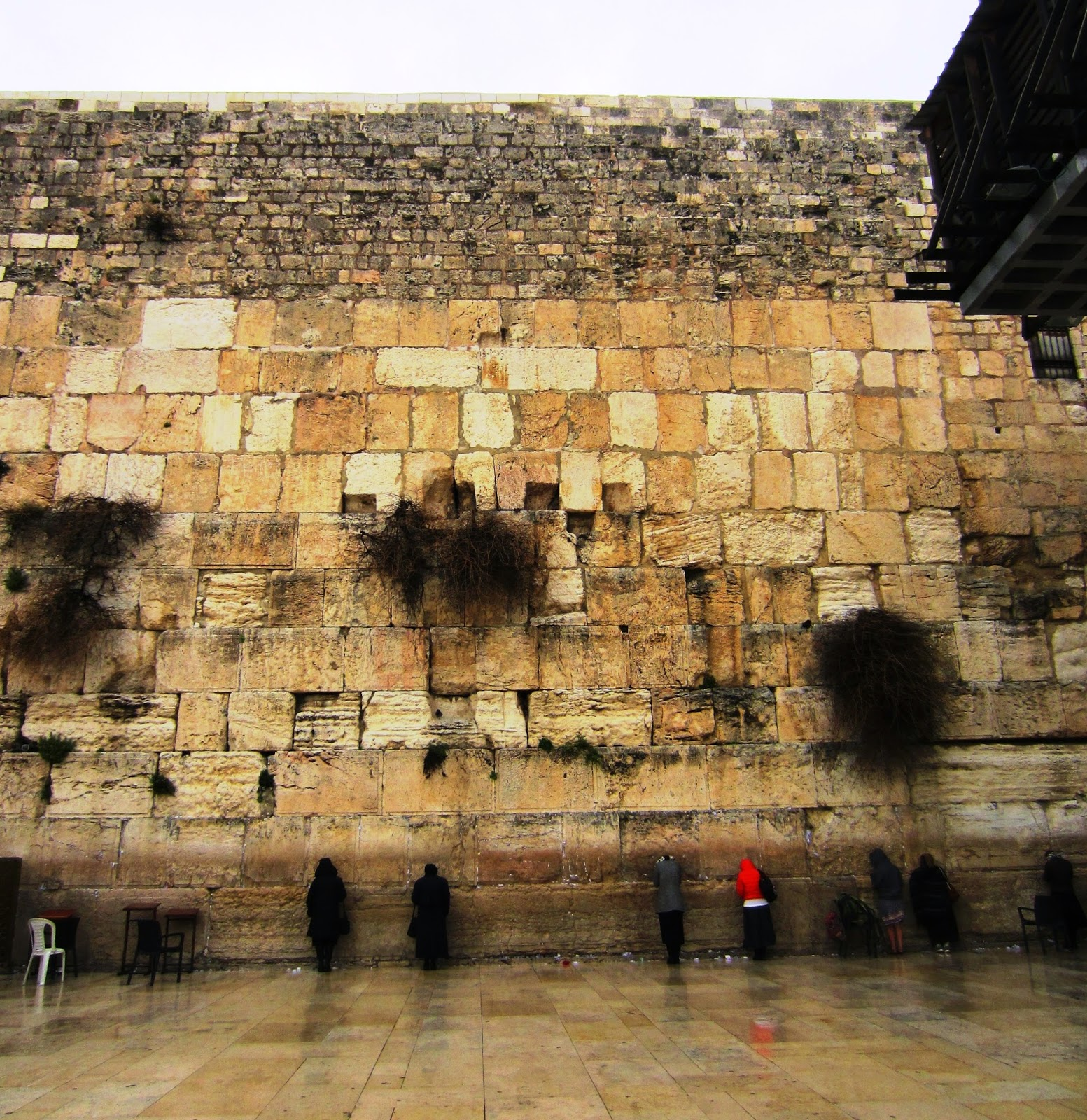 The Western Wall, Jerusalem / Souvenir Chronicles