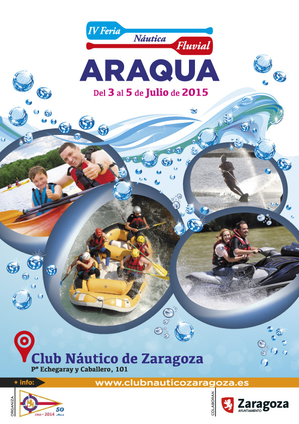 Club n utico zaragoza preparando la iv edici n de la feria n utica y fluvial 2015 - Club nautico zaragoza ...
