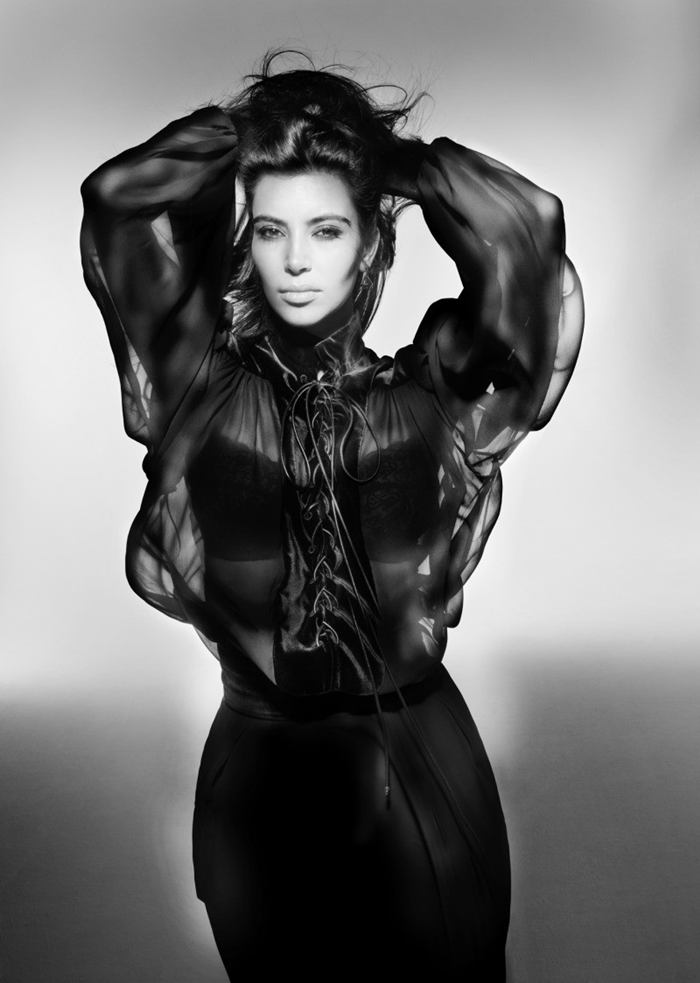 Kim Kardashian – Photoshoot for V Magazine Fall 2012