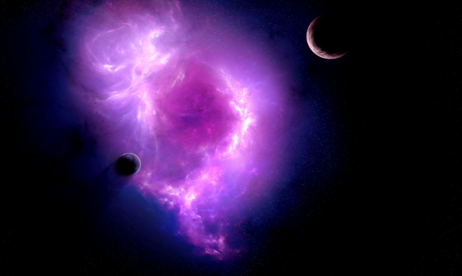 nebula space wallpapers widescreen - photo #13