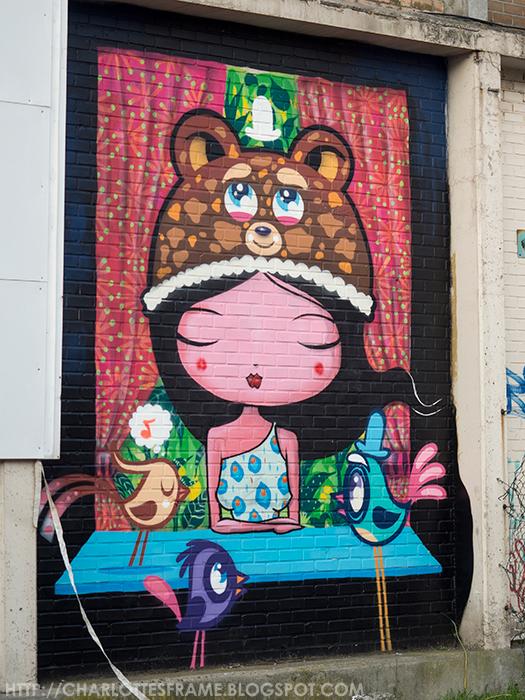 graffiti Ghent, graffitie gent