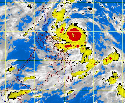 Typhoon Labuyo Satellite Image