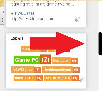 cara mengganti tampilan scroll bar pada blogger