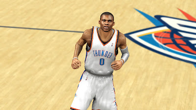 NBA 2K13 Russell Westbrook Face NBA2K Patch