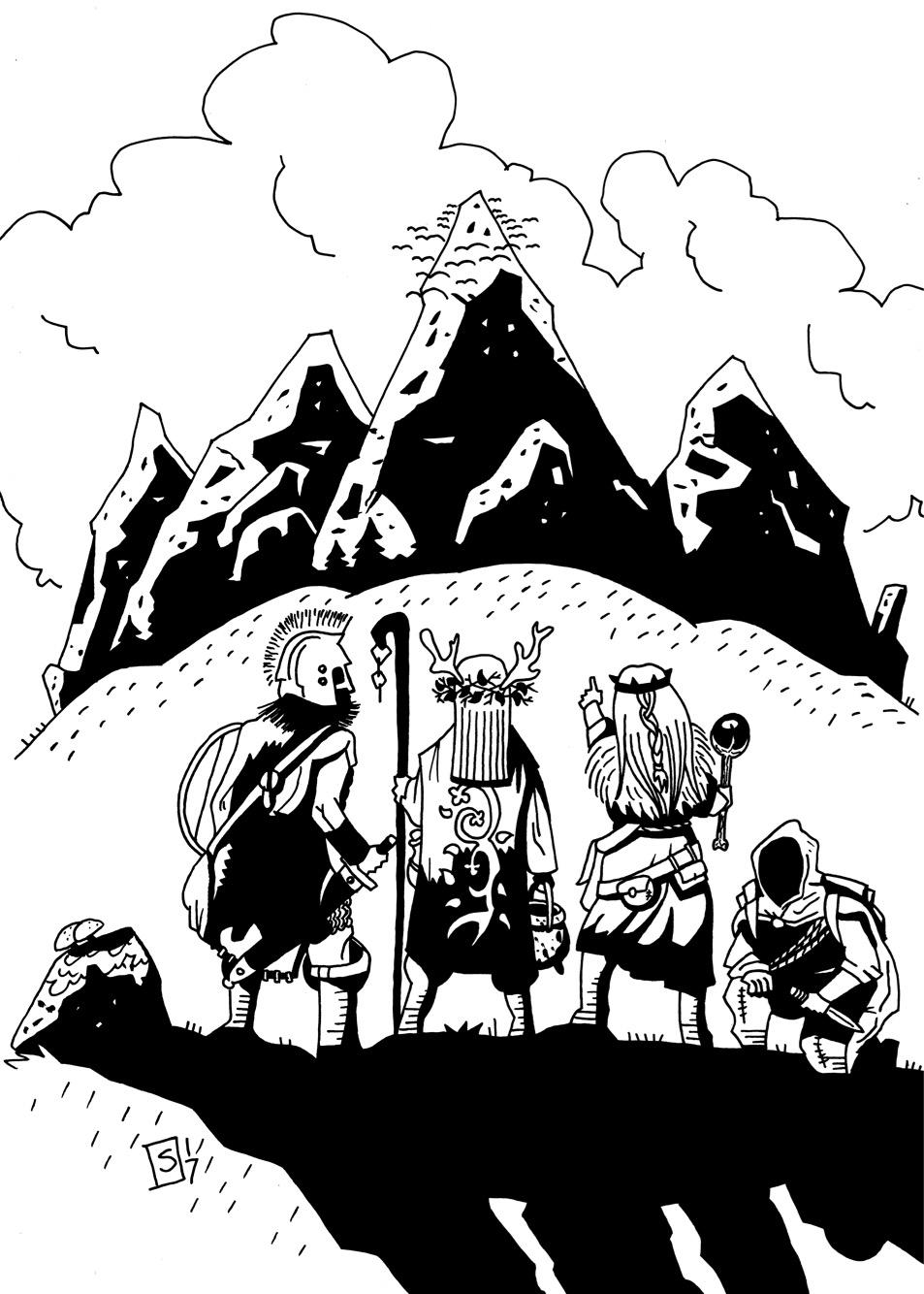 Illustrationer till Ockult Örtmästare