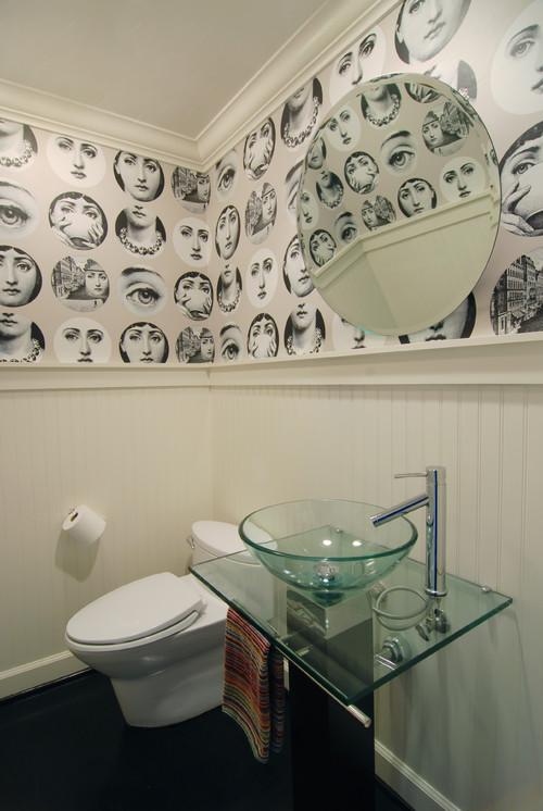 funky bathroom wallpaper banyo duvar ka d smyrnetalya