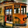 Wallpaper de un viejo tren - Old Tramway