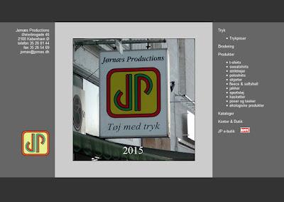 Jørnæs Productions hjemmeside
