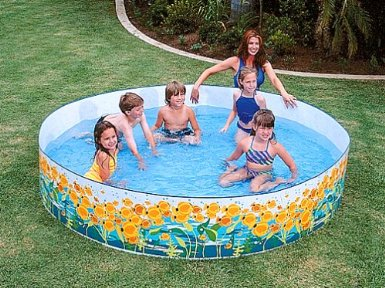 Money in my pocket intex 8 39 x 18 sun fish snapset pool for Intex pool koi pond