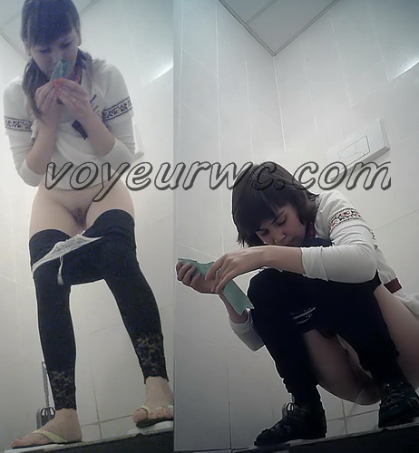 VB Piss 1706-1715 (Real women pee in toilet secret cam video)