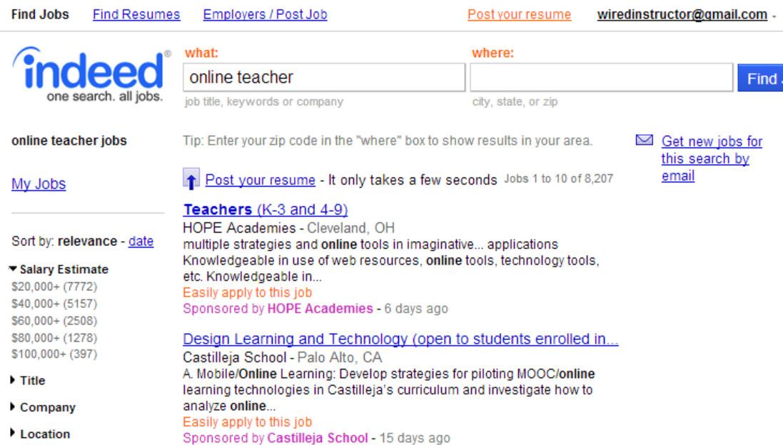 Adjunct Online Jobs