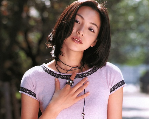 Japanese Beautiful Actress Honjo Manami