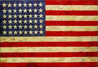 Jasper Johns, Flag, 1954-55