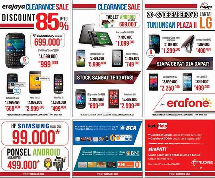 Erafone Surabaya Clearance Sale Diskon Hingga 85%