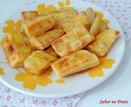 receita de mandioca frita na airfryer facil de fazer