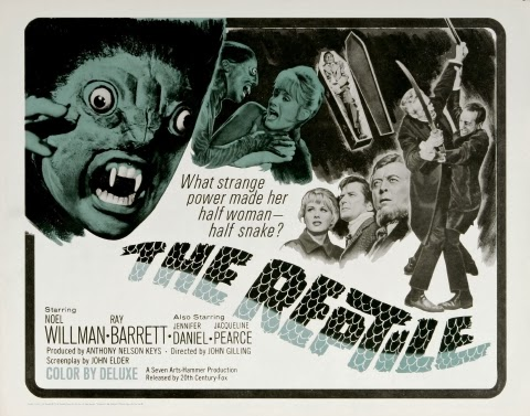 Poster - The Reptile (1966)