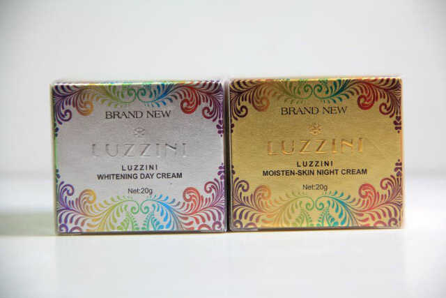Cream Luzzini Whitening