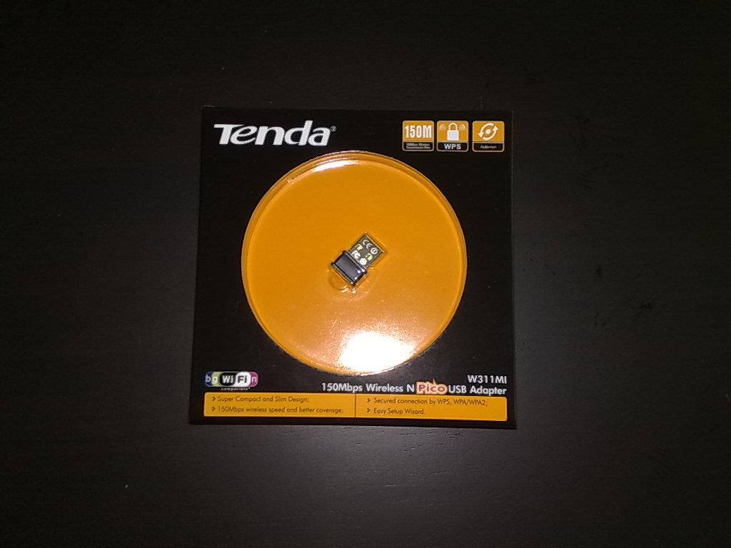 BLOG: Tenda 150Mbps Wireless N Pico USB Adapter (Price: RM 45.00