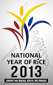 We Support the National Year of Rice