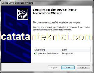 device driver apple wireless finish