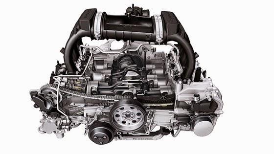 2016 Porsche 718 Engine