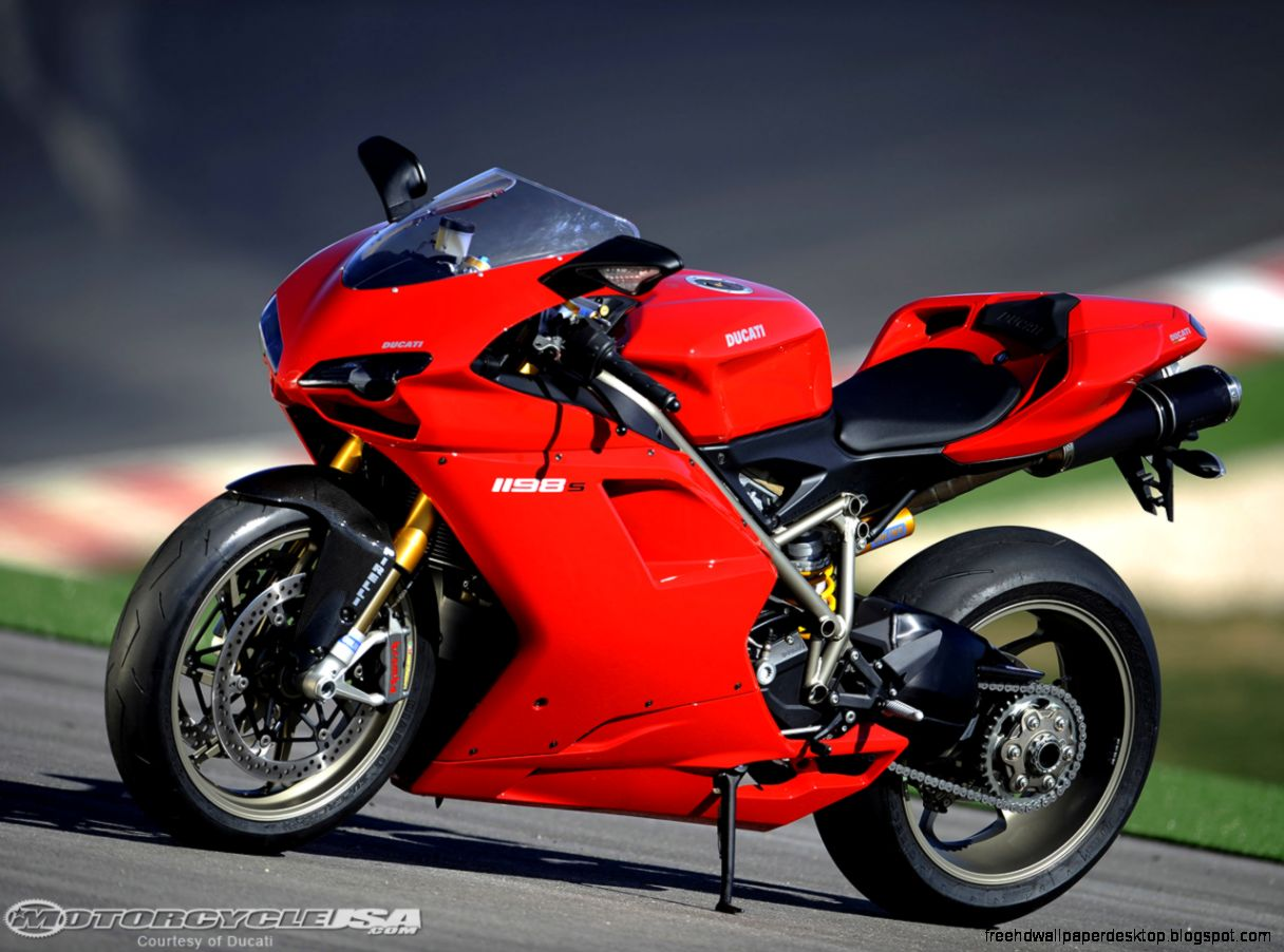 Red Color Superbike Ducati Cool Wallpaper HD 13869 Wallpaper