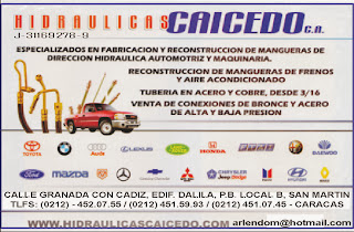 HIDRAULICAS CAICEDO, C.A. en Paginas Amarillas tu guia Comercial