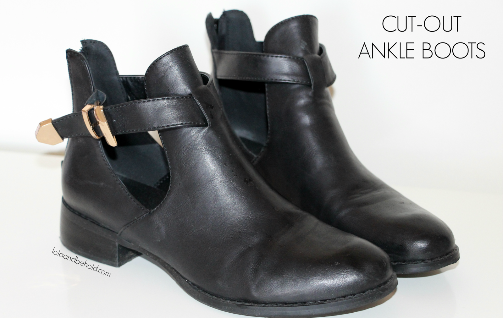 How to Wear Ankle Cut Out Boots Fashion Cut-out Ankle Boots