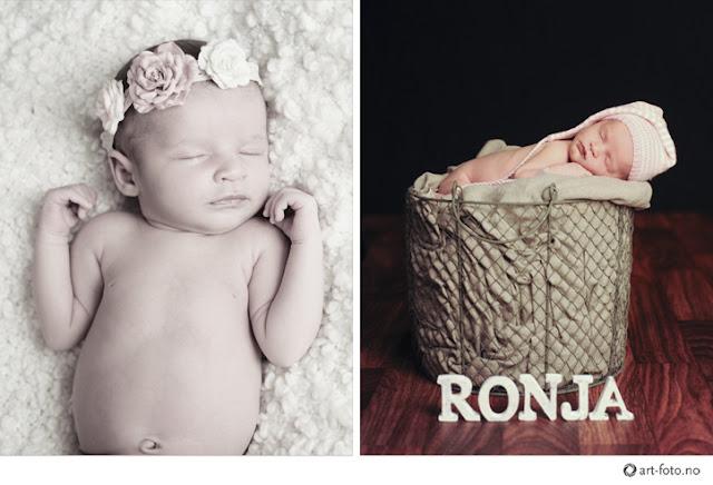 1 - Nyfødt fotografering